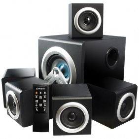 Wholesale Sumvision V-Cube 5.1 Speakers with Subwoofer for PC