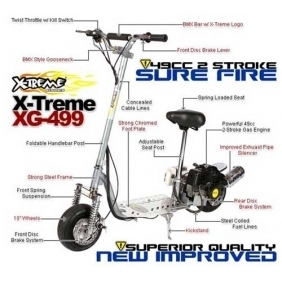 Wholesale X-Treme Gas Scooter XG 499